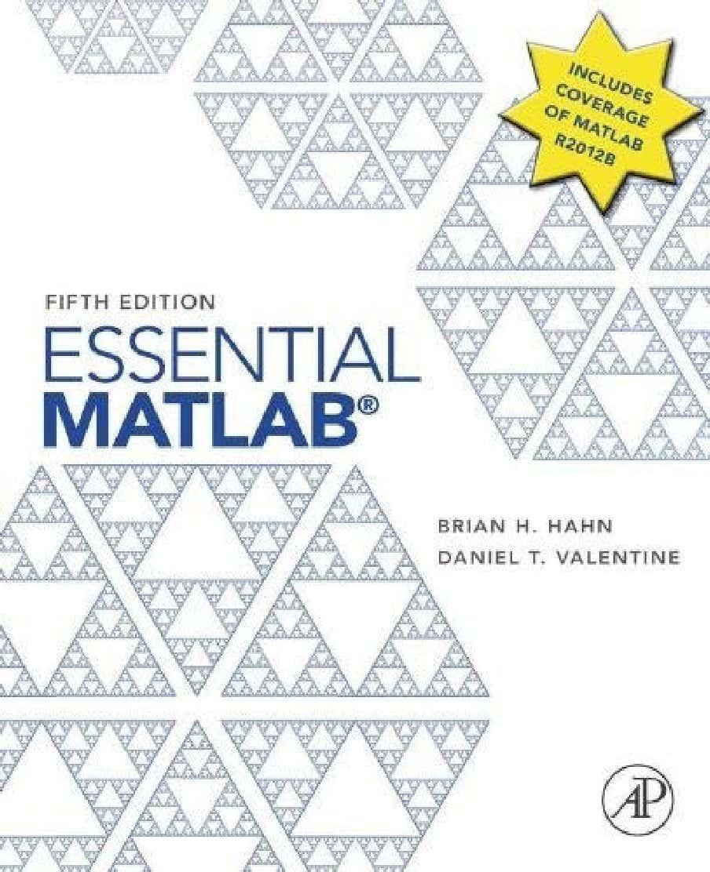 MATLAB ESENCIAL - HAHN, VALENTINE 1-2beba09d93