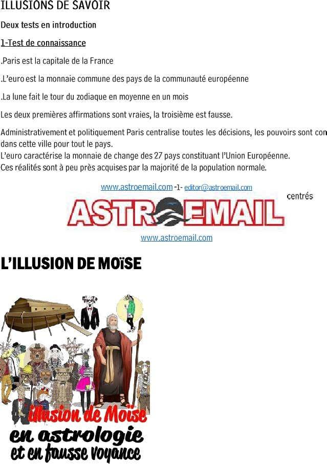 Claude thiébault  L'illusion de Moise en astrologie et en fausse voyance dans anti(-astrologie 1-e44b538a8b
